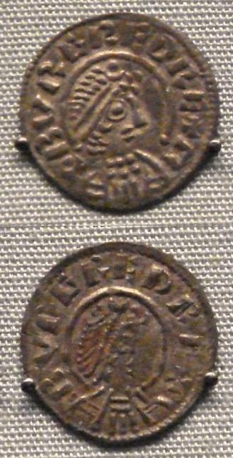 Burgred of Mercia - Coin issued during Burgred's reign.