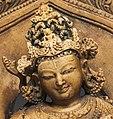 Bust detail, India, Nalanda, Pala Period - Lokesvara Khasarpana form of Avalokitesvara - 1991.155 - Cleveland Museum of Art (cropped).jpg