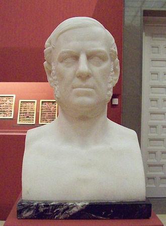 Bernardo López Piquer - Bust of Bernardo López, by Josep Piquer i Duart (1860s?)