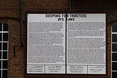 Bylaws for the drainage of Deeping Fen (geograph 3691189).jpg