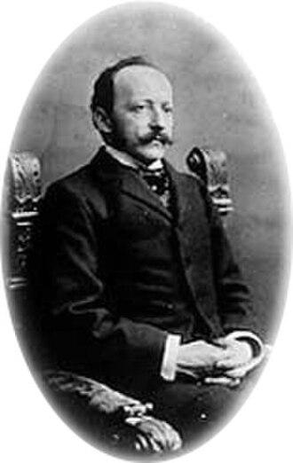 César Ritz - Portrait of César Ritz