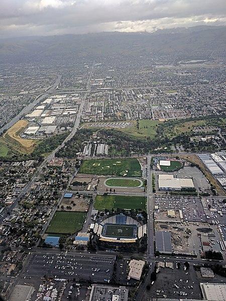 CEFCU Stadium, or Spartan Stadium, at San Jose State University | Dicklyon via Wiki Commons