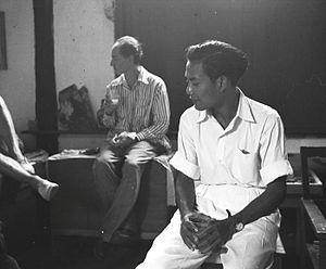 Antonio Blanco (painter) - Antonio Blanco (left) in his Bali home