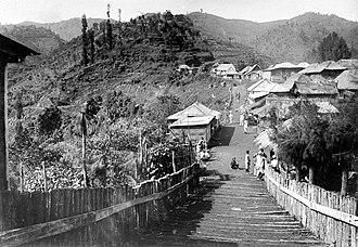 Tosari - Image: COLLECTIE TROPENMUSEUM Sanatorium Tosari in Pasuruan Oost Java T Mnr 10002205