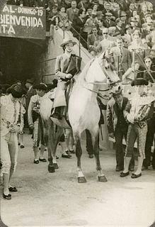 Conchita Cintrón Chile-born Peruvian torera (female bullfighter)