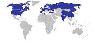 CRH plc - CRH global production sites in 2010.