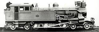 CSAR Rack 4-6-4RT class of South African rack 4-6-4T locomotives