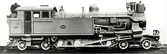 1905 in South Africa - CSAR Rack 4-6-4RT