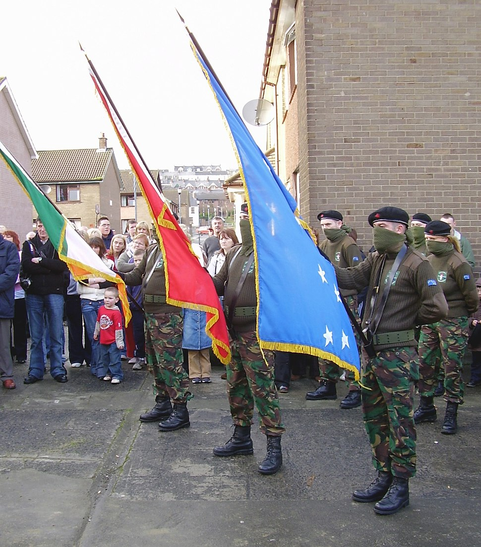 CW. Derry, IRSP-INLA möte
