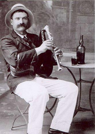Cabrette - Cabrette player Jean Rascalou