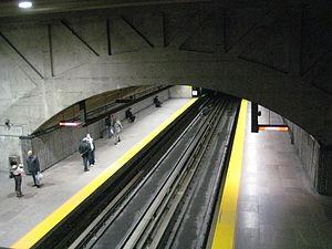 Cadillac station - Image: Cadillac Station Metro