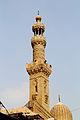 Cairo - Moschee al-Ashraf Barsbay 02 Minarett.JPG