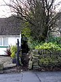 Calderdale Way footpath at Riley Lane, Bradshaw - geograph.org.uk - 1607952.jpg