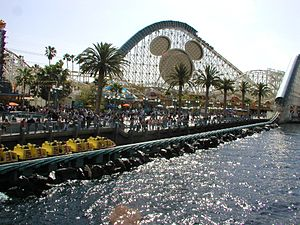 California Screamin' - California Screamin' launching on Paradise Bay.
