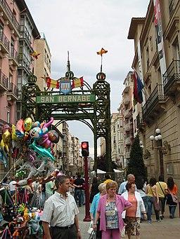 Calle Portales en San Bernabé