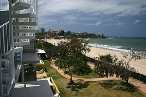Caloundra - Apartments along King's Beach