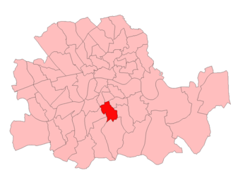 Camberwell North West (UK Parliament constituency) - Image: Camberwell North West