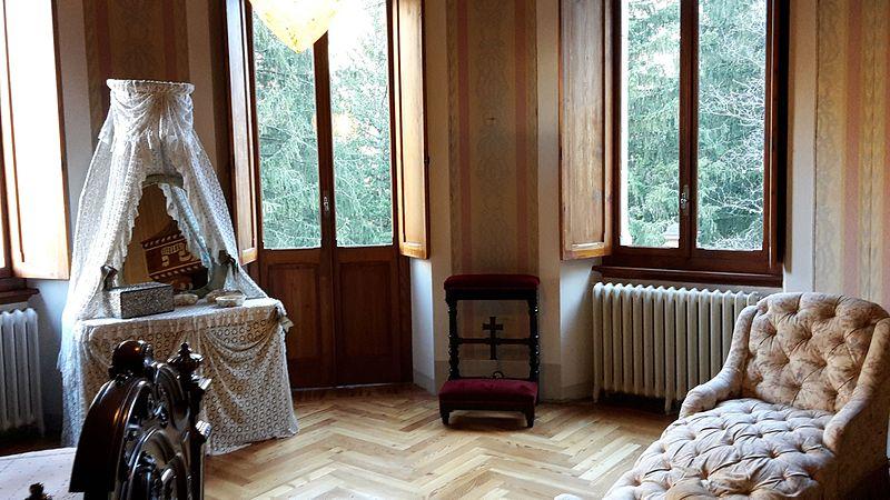 File camera da letto della regina margherita castel - Descrizione della camera da letto ...