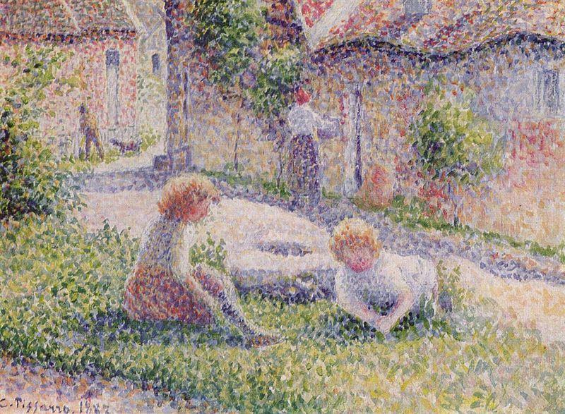 Pissarro Impressionniste Influent 3 Eclaircie Aprs La Pluie
