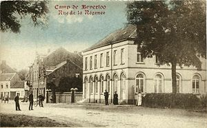 Beverloo Camp - Postcard depicting Beverloo Camp in the early 20th century