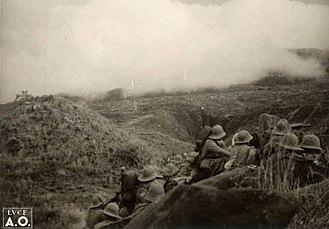 Battle of Amba Aradam - A moment of the battle