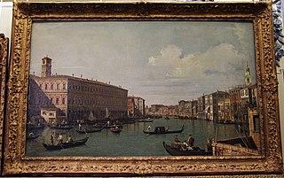 Le Grand Canal au pont du Rialto