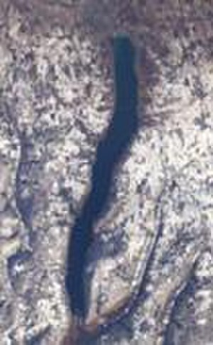 Canandaigua Lake - satellite view