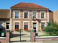 Canly (60), mairie, rue des Écoles.jpg