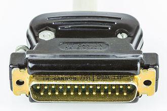 Cannon (ITT Corporation) - Cannon DBM-25P connector