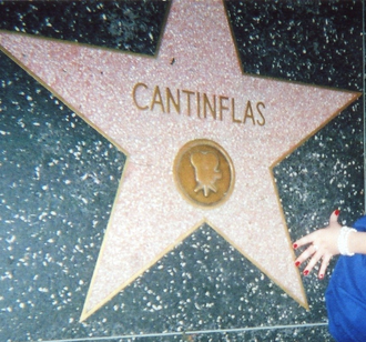 Cantinflas - Cantinflas' star on the Hollywood Walk of Fame in Los Angeles