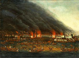 Thirteen Factories - The 1822 fire