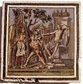 Cap d'Agde. L' « emblema » d'Apollon et Marsyas.jpg