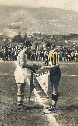 CD Tenerife - Match between CD Nacional of Madeira and CD Tenerife in 1925.