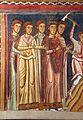 Cappella di san silvestro, affreschi del 1246, storie di costantino 09 elena trova la vera croce in terrasanta 2.jpg