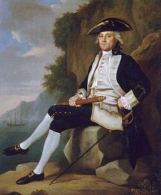 Uniforms of the Royal Navy - Captain Edward Vernon (1723-1794)