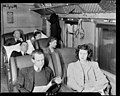 Car Interior 1st Class with passenger models PHOTOGRAPHER J.F. Le Cren. DATE 1950.jpg