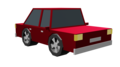 Car red Animation Clipart 3D Render.png