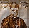 Cardenal Payà, plafó ceràmic a Alacant.JPG