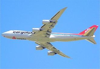 Cargolux - Cargolux Boeing 747-8F