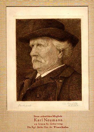 Carl Neumann - Carl Gottfried Neumann, 1912