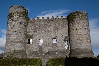 Carlow - West side of Carlow Castle