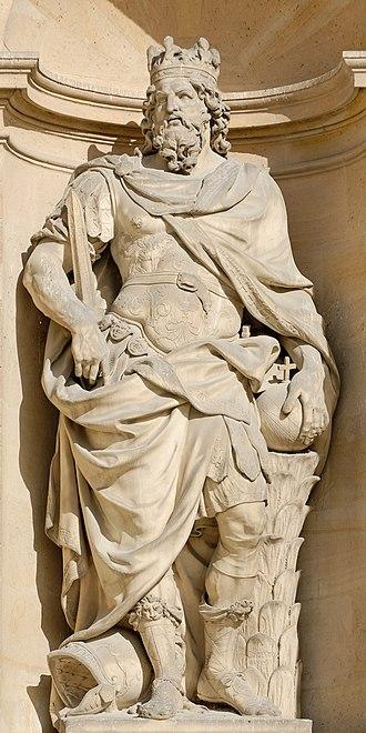Antoine Coysevox - Image: Carolus Magnus Coysevox Invalides