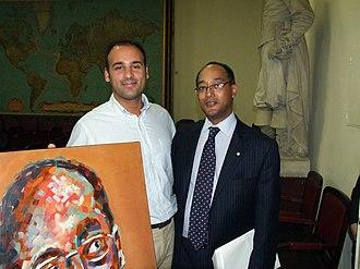 Ermias Sahle Selassie - Prince Ermias Sahle Selassie in 2009.
