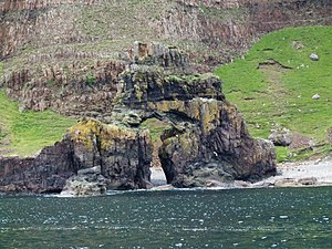 Carsaig Arches Wikipedia
