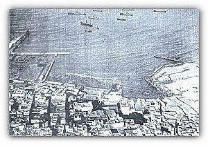 Port of Casablanca - The port under construction in 1915