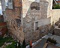Casa dels Berenguer, mur del temple de Diana, Sagunt.JPG