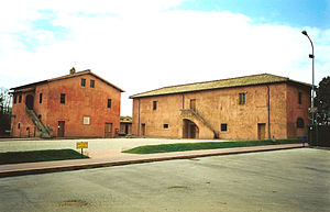 Maria Goretti - La Cascina Antica (right), the Goretti home