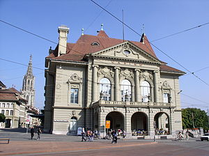 Herrengasse (Bern) - The Casino of Bern at Herrengasse 25