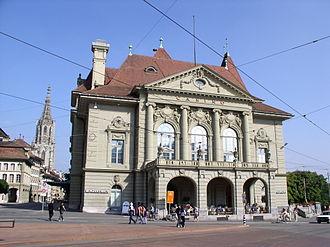 Herrengasse (Bern) - The Casino of Bern at Herrengasse 25