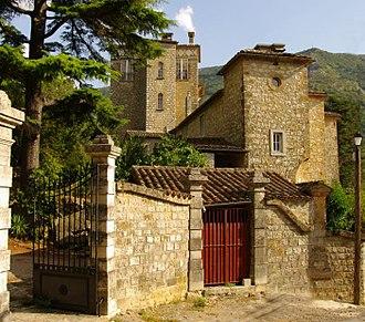 Bez-et-Esparon - The chateau of Bez